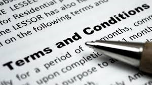 Terms and Conditions Private House Sale London